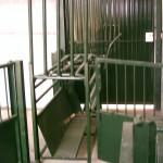 Puerta del cepo