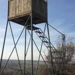 Torreta de 3,5 m madera